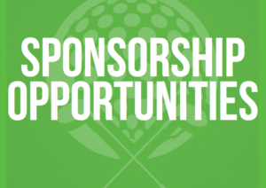 graphical text says sponsorship opportunities